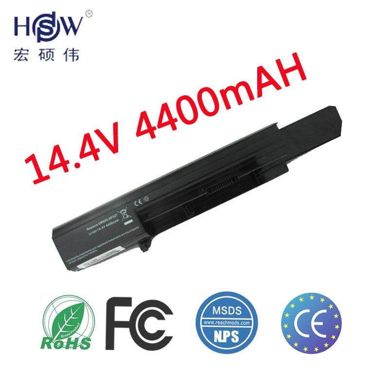 HSW nouvelle Batterie D'ordinateur Portable Pour Dell Vostro 3300 3350 07W5X0 0XXDG0 312-1007 451-11354 451-11355 451-11544 50TKN 7W5X09C GRNX5 NF52T