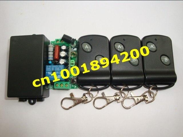 220 В 10А 1000 Вт нагрузочный RF беспроводной пульт дистанционного управления(приемник) 4 пульта дистанционного управления(передатчик) фиксированный add transmiter свободно