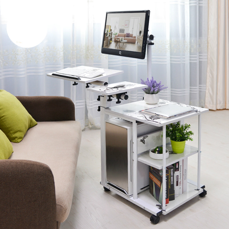 Hot sale hanging simple bedside desk lazy desktop computer ...