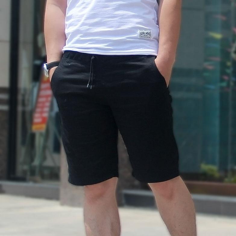Summer Blue Cotton Shorts Men Fashion Boardshorts Breathable Male Casual Comfortable Plus Size Bermudas Masculina