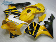Injection fairing kit fit for Honda CBR600RR 03 04 CBR 600 RR 2003 2004 yellow black fairing body repair NY28