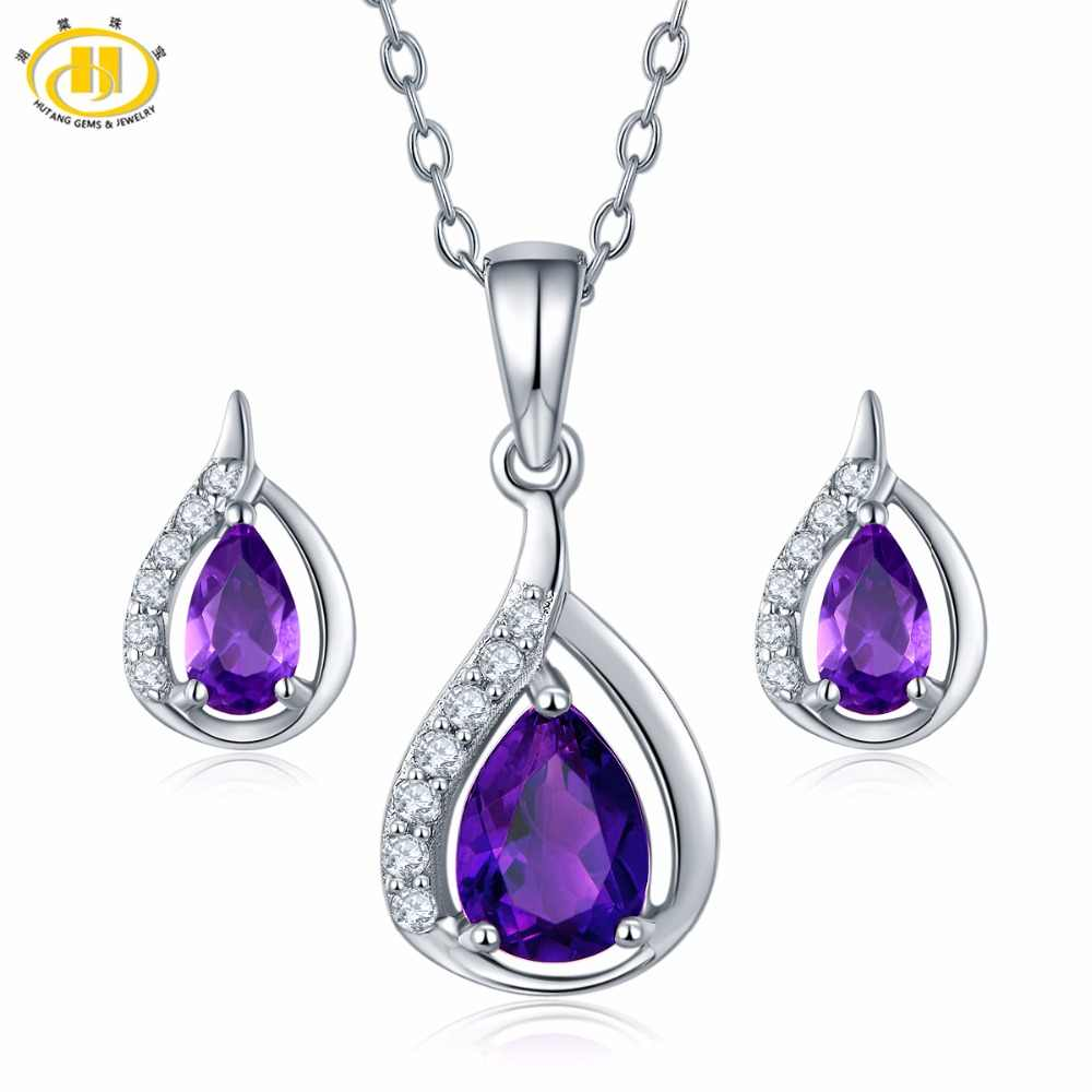 Amethyst Natural Gemstone Beautiful Pendant 925 Sterling Silver Handmade Party Wear Jewelry For Women /& Girls Amazing Pendant Garnet