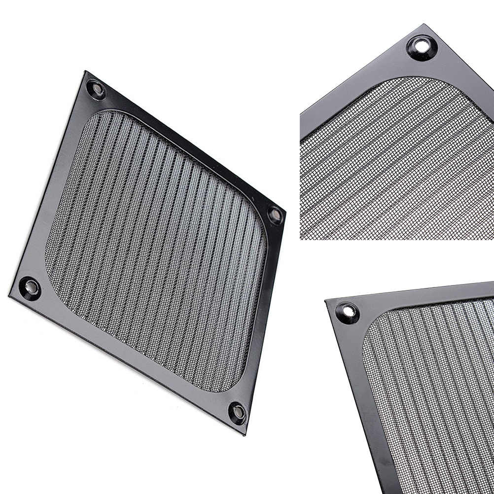 Image 3 - 120mm PC Computer Fan Cooling Dustproof Dust Filter Case Aluminum Grill Guard-in Computer Cleaners from Computer & Office