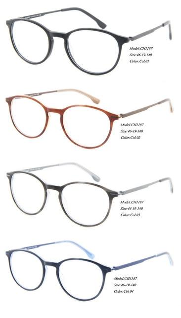 f00a28bcc07e12 Eye wonder groothandel vrouwen vintage acetaat glazen ronde mannen brillen  frames gafas ch1187