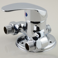 SPRING SUMMER Surface Mounted Brass Shower Faucet Solar Water Heater Mixing Valve Hot And Cold Taps Showers Switch