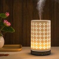 Ceramic Aroma Furnace Oil Lamp Incense Burner Bedroom Home Decor Diffuser Bottlequemadores De Incienso Electric Censer 50B3033