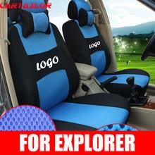 Cartailor автокресла пригодный для Ford Explorer сидений автомобиля удобные черные сэндвич Крышка место защиты аксессуары для интерьера