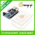 Orange pi um set2: pi um + abs transparente caes suporte android, Ubuntu, Debian nem para Raspberry Pi