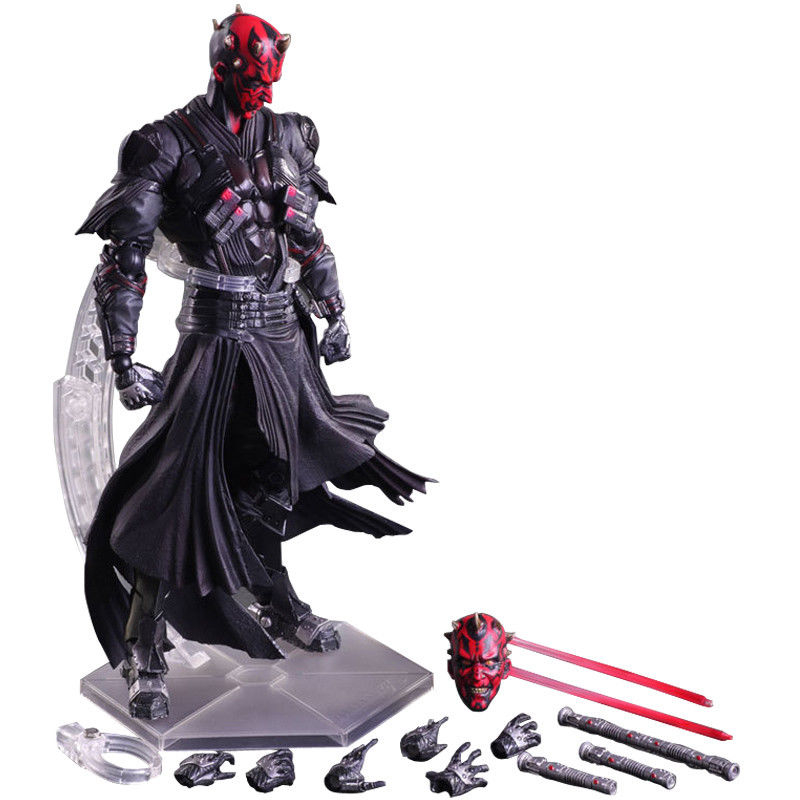 Star Wars series Darth Maul The Black Series PVC Action Figure Collectible Anime Movies Figures Model Toy Gifts With orginal Box acgn lol game the void reaver toy figures classic collection khazix model with the original box action figure 18 cm wl0014