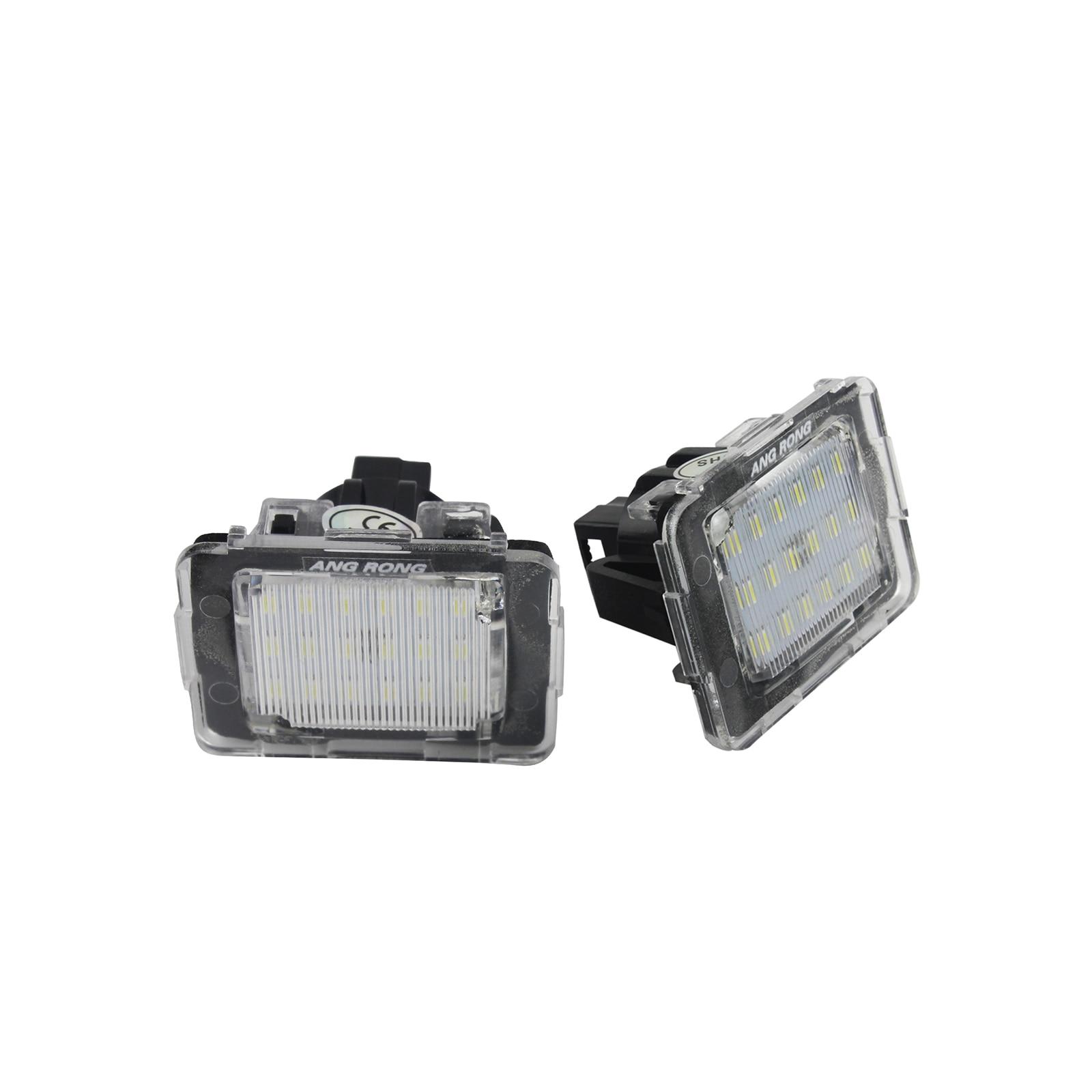 NEW GENUINE MERCEDES BENZ MB SLK CLASS R172 LICENSE PLATE LIGHT LAMP 1PCS