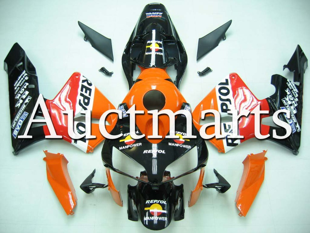 For Honda CBR 600 RR 2003 2004 Injection  ABS Plastic motorcycle Fairing Kit Bodywork CBR 600RR 03 04 CBR600RR CBR600 RR CB52 hot sales for honda cbr600rr 2003 2004 cbr 600rr 03 04 f5 cbr 600 rr blue black motorcycle cowl fairing kit injection molding
