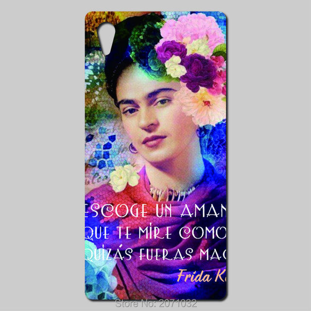 Frase Amor Frida Kahlo Phone Cases For Sony Xperia Z5 Z4 Z3 Z2 Z1