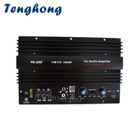 Tenghong High Power Car Subwoofer Amplifier Board 12V 1000W Power Amplifier Bass Sound Amplificador For Car Audio Speaker System