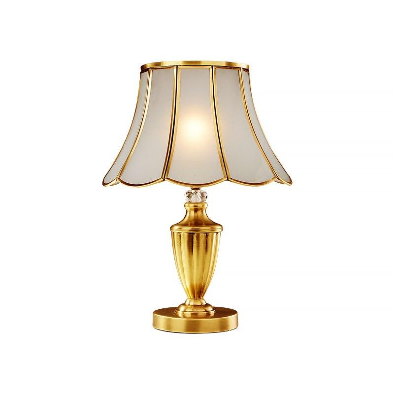 Licht & Beleuchtung GroßZüGig Europäischen Stil Zu Hause Beleuchtung Schlafzimmer Nachttischlampen Luxus Minimalistischen Hochzeitszimmer Dekoration Schreibtisch Lampen Za921411 SchöN Und Charmant