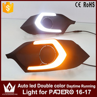 GuangDian High Quality Car Daylight DRL Daytime Running Light Auto LED Lamps With Yellow Signals For