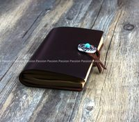 2015 HAND SMALL Diaries Journals Notebook Genuine Leather SMOOTH D20141106