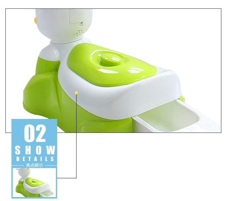 crianças dos desenhos animados potty seat cadeira 43*30*32cm