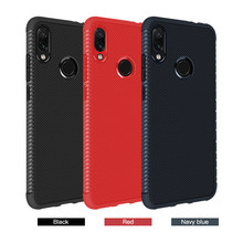 Fiber Carbon TPU Back Cover For Xiaomi Mi A2 Lite Silicon Phone Case For Xiaomi Redmi 6 Pro 6A 6 Note 6 Note7 Pro Note 5A Prime(China)
