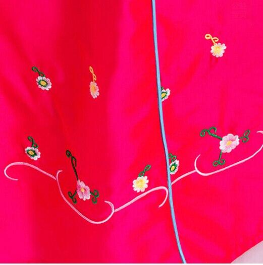 Корейлік қыздар ханшайымы костюм - Ұлттық киім - фото 4