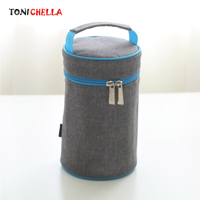 Baby Insulation Feeding Milk Bottle Thermal Bag Waterproof Lunch Infant Picnic Keep Warm Food Thermo Portable Mommy Tote BB5045