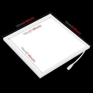 Image 2 - Мини теневая Светодиодная панель для фотосъемки PULUZ 22,5 светодиодный светильник светодиодный панели s 20 см