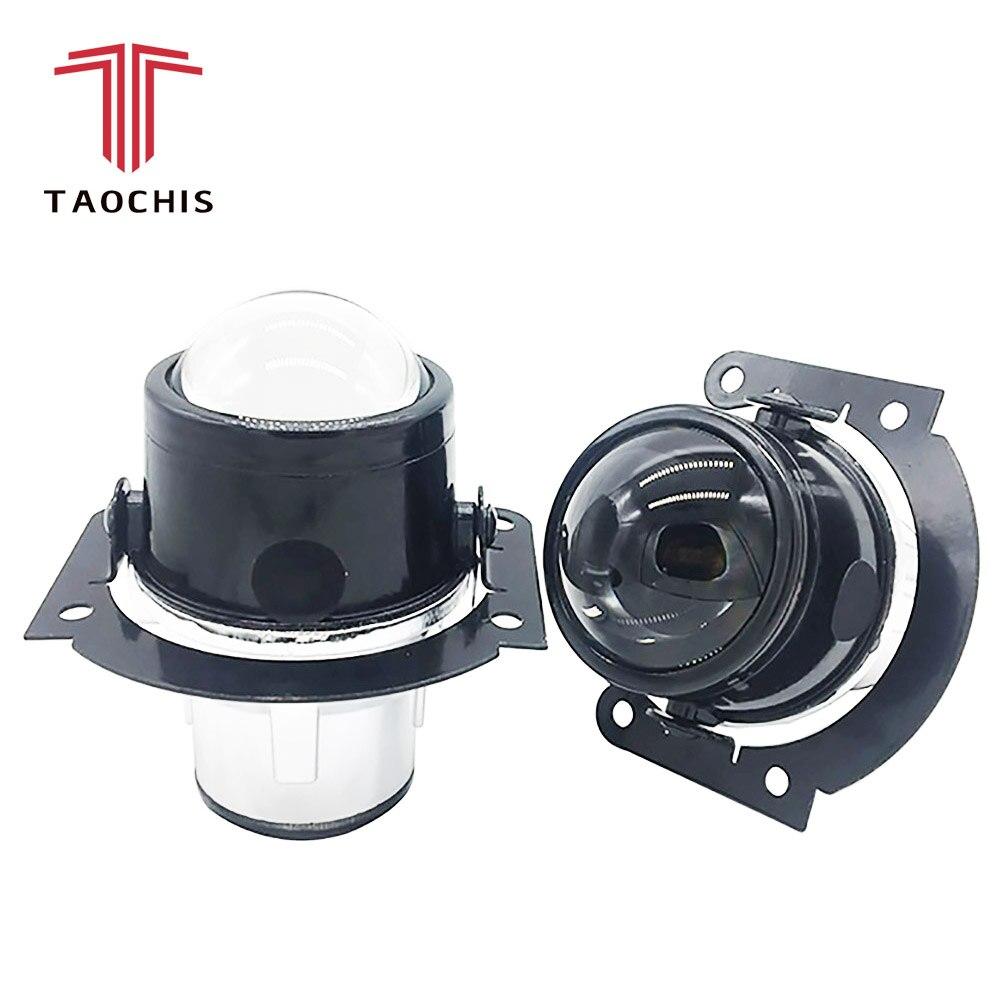 TAOCHIS Auto-styling 2,5 nebel lampe Bi-xenon projektor objektiv gewidmet Für MITSUBISHI LANCER SPORT ZURÜCK H11 hid xenon glühbirne