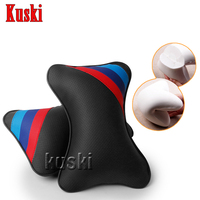 2Pcs Car Neck pillow Headrest Accessories For Mini Cooper R56 R50 R53 F56 F55 R60 R57 Suzuki Grand Vitara Swift SX4 Vitara Jimmy