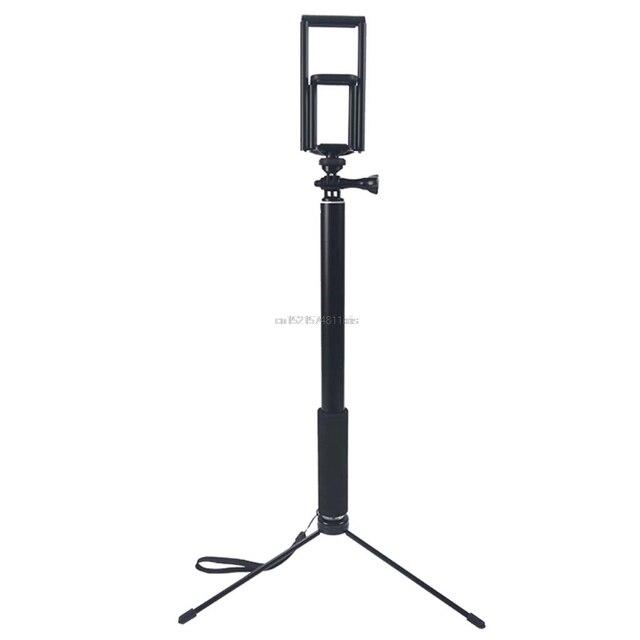 1.5 متر/2 متر للتمديد Selfie عصا ترايبود حامل آيفون باد DSLR أندرويد Gopro