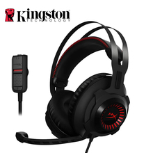 Kingston virtual 7 1 HyperX Cloud Revolver Headphones Noise cancelling With Microphone Gaming Headset For FPS