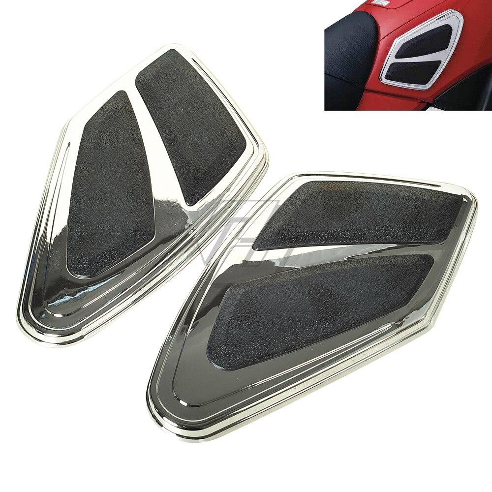 Chrome Motorcycle Knee Panel Fairing Side Cover Case for Honda Goldwing GL1800 GL 1800 F6B 2012