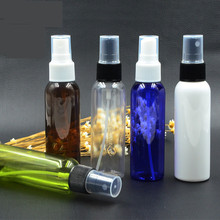 60Ml Empty Cosmetic Containers New Colorful Spray Bottles High Quality Plastic Pet Travel Fine Mist Sprayers Refillable