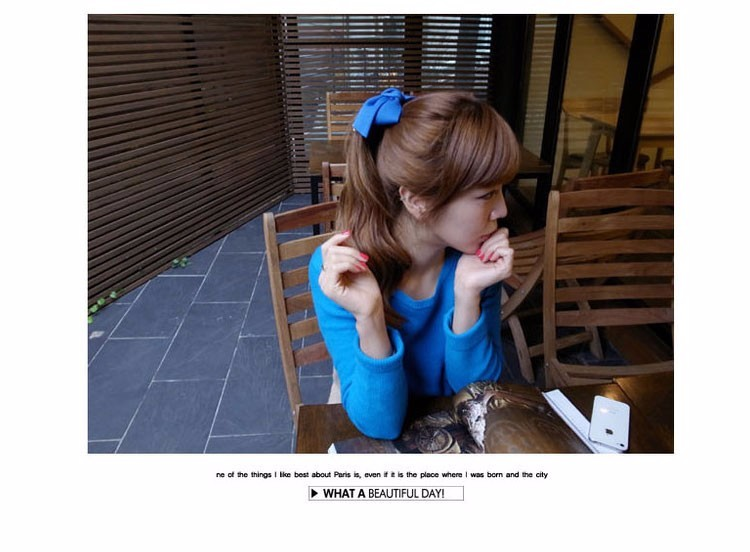 HTB1L7QAOFXXXXbjapXXq6xXFXXXt Pretty Solid Cloth Big Bow Hair Clip For Women - 7 Colors
