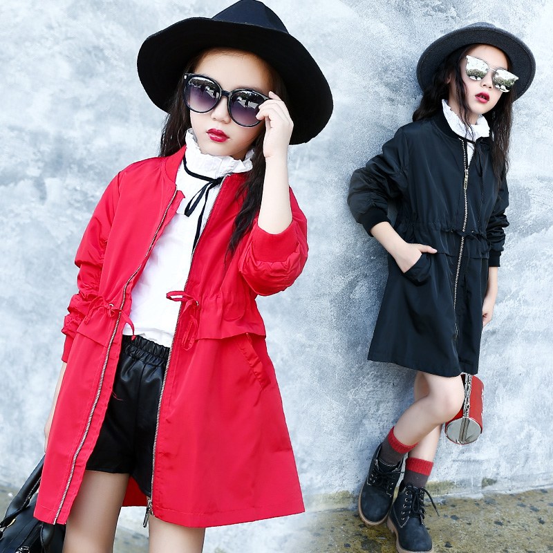 Popular Girls Red Trench Coat-Buy Cheap Girls Red Trench Coat lots ...