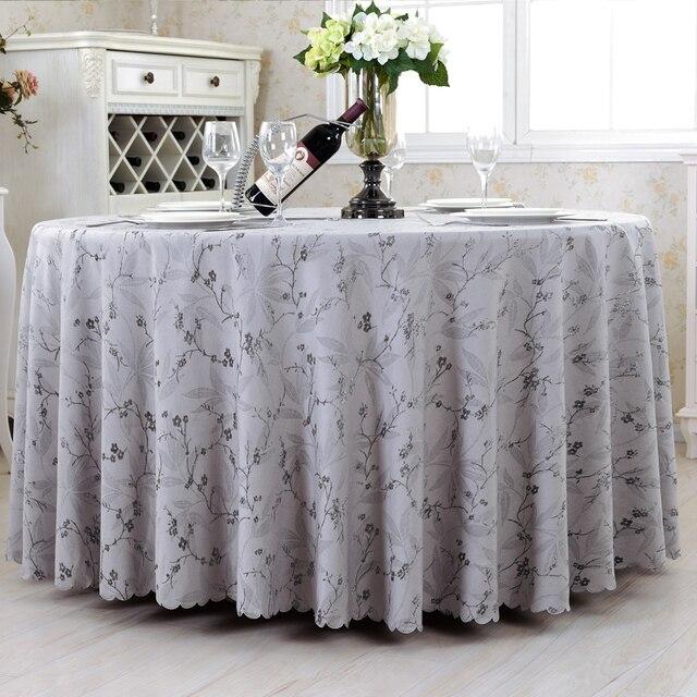 Top Luxuriöse Runden Tisch Abdeckung Rechteck Tischdecken Hotel