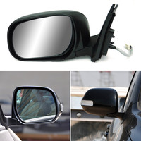 Texture Black Automatic Folding Power Heated Turn Signal Original Replacement Side View Mirror For Toyota RAV4 2010 2014