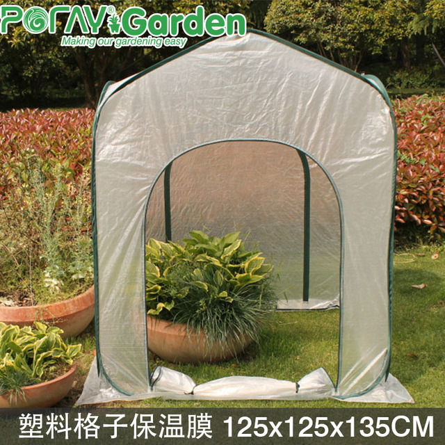 2016 New Folding Greenhouse Warm Room Garden Shed Mini Garden Tent Cover  Tent Grow Box Artificial