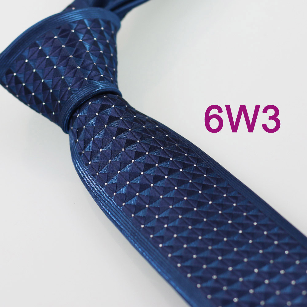 YIBEI coahella галстуки синие галстуки мужские окаймленные блестящие галстуки с серебряными маленькие точки стереоскопический плед гравата, тонкий микрофибра