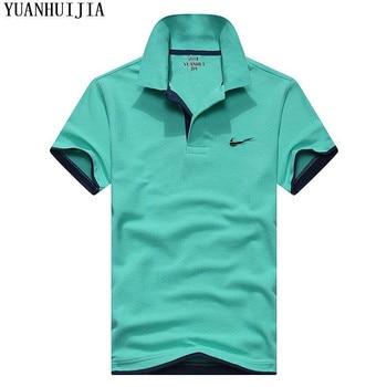New men's polo shirt high quality cotton short sleeve shirt 1