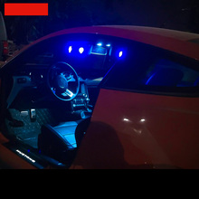 lsrtw2017 LED car reading light trunk for ford mustang 2015 2016 2017 2018 2019 6th
