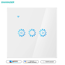 цена на Smart Wifi Switch Dimmer Wall Touch Switch Wireless Light Switch Timer Support Work with Alexa Google Home Remote Control White