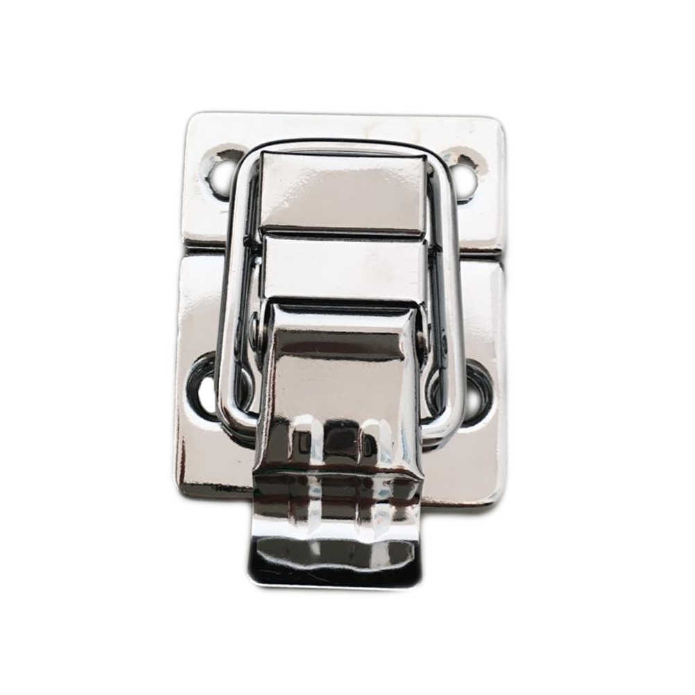 Stainless Steel Tugas Berat Beralih Case Kotak Dada Trunk Latch Pengait Kunci Latch Klem