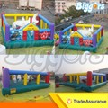Free shipping by sea Commercial Inflatable Children Amusement Bouncer Fun City Playground