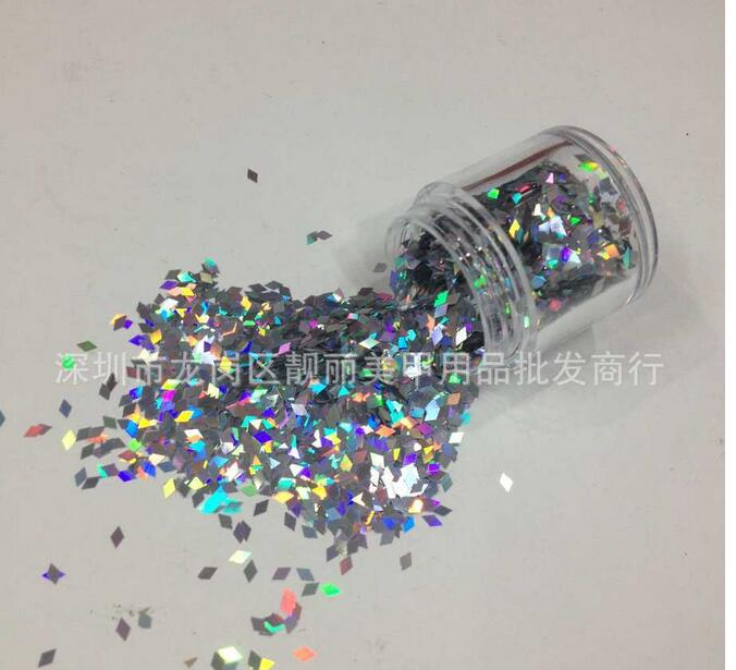 1 Box 2mm Diamond super laser sequins Sparkling Nail s