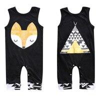 Bán Hot Bé Fox Rompers Quần Áo Trẻ Em Bé Rompers Sơ Sinh cậu bé Trẻ Sơ Sinh Bé Trai Bé Gái Dễ Thương Fox Romper Jumpsuit Outfit quần áo