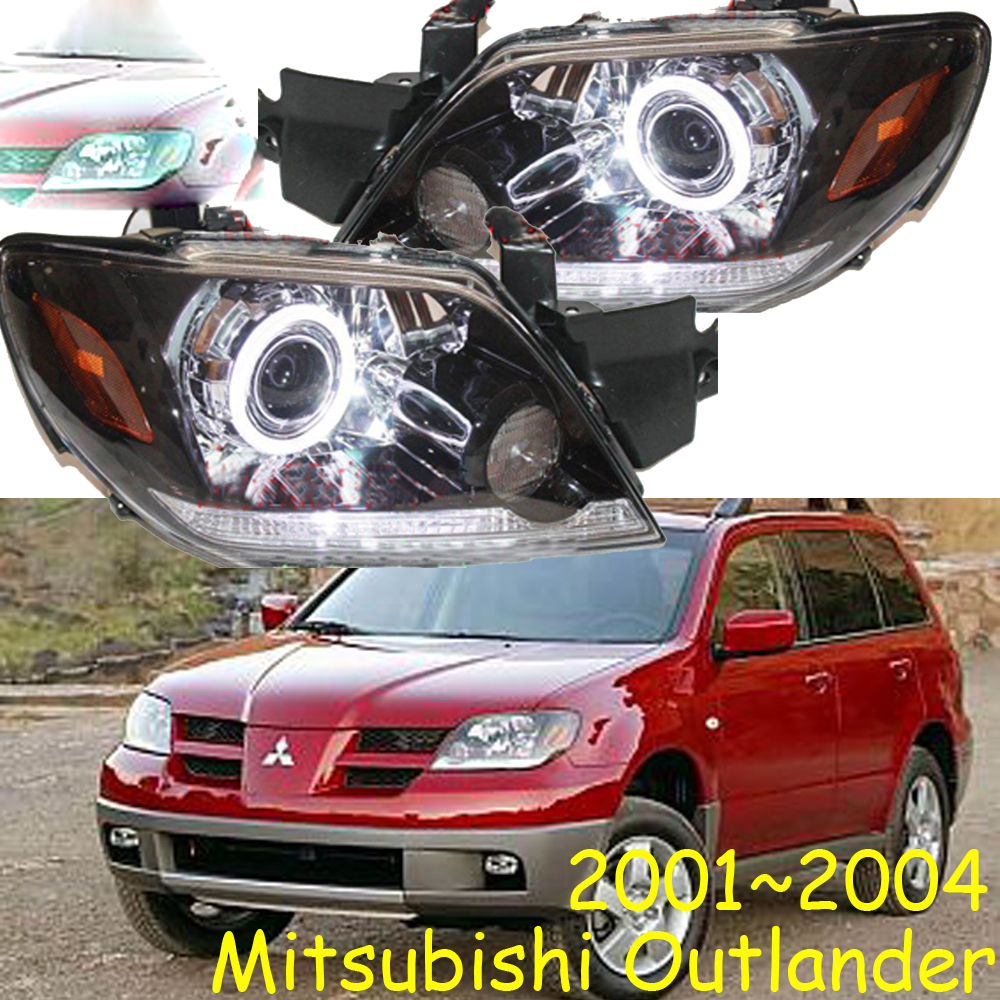 HID,2001~2004,Car Styling,Outlander Headlight,Endeavor,ASX,Expo,Eclipse,verada,pajero,Triton,Outlander head lamp yuzhe linen car seat cover for mitsubishi lancer outlander pajero eclipse zinger verada asx i200 car accessories styling cushion