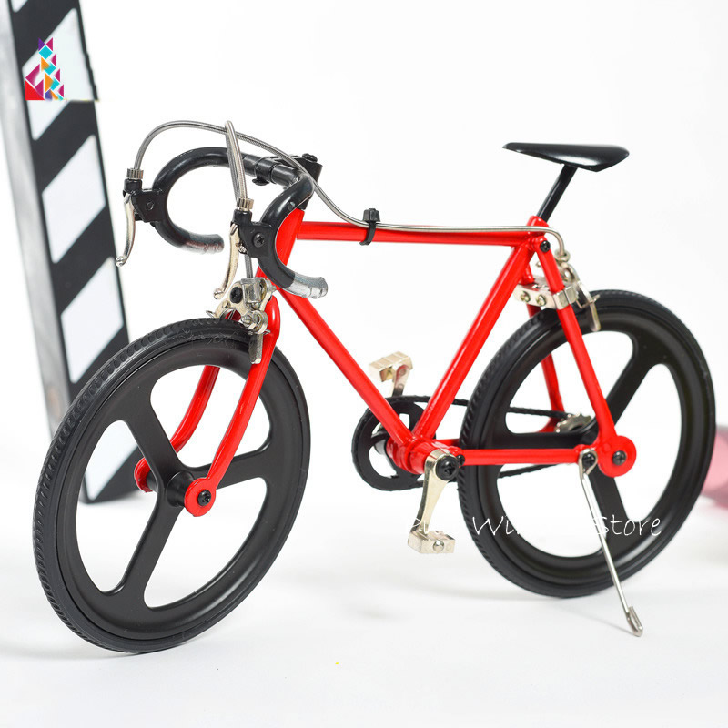 DIV assembled metal bicycle model Beautifully mountain