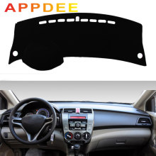 APPDEE For Honda city Grace 2008-2013 Car Styling Covers Dashmat Dash Mat Sun Shade Dashboard Cover Capter 2009 2010 2011 2012(China)