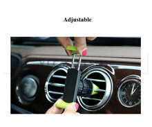 Universal Luxury 360 Degree Rotate Air Vent Frame Mount Car Phone Holder for iPhone Xiaomi Air conditioner outlet car holder(China)
