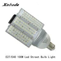 100 Вт E40 E27 светодиодный уличный фонарь высокой Мощность открытый уличный фонарь энергосбережения светодиодный лампы 180 градусов свет AC100 305V
