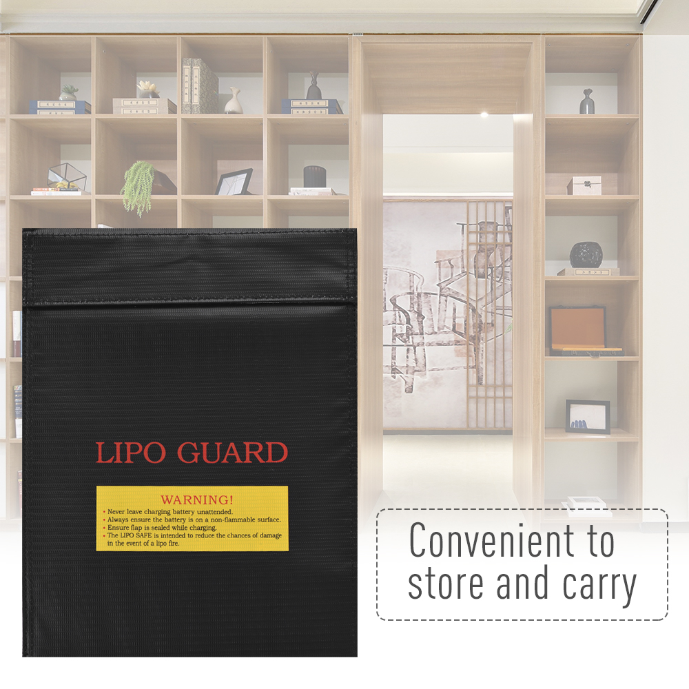Office Supplies Document Folder Lipo Battery Protection Bag Fireproof Explosion-proof Water-proof Safe Charging Storage Bag
